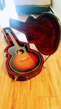 Epiphone tobacco fade with hard case