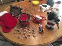 Different Christmas Items In Good Condition ($3 For Everything) 2056 mi