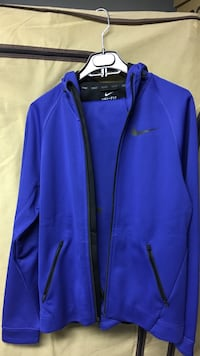 Nike dri-fit thermo fleece zip up hoodie and jogger