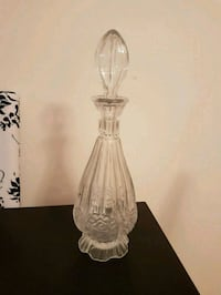 Glass decanter.  Toronto, M2M 4B9