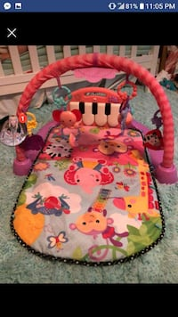 baby's pink and green activity gym Silver Spring, 20906