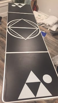black and white beer pong table Los Angeles, 90036