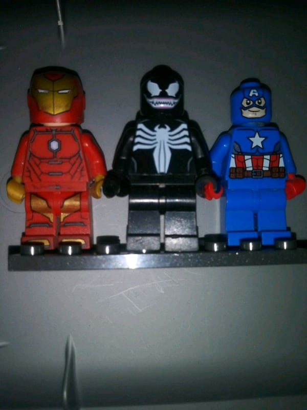 Lego marvel people.iron man venom captain america f01b2500-4597-48ba-892e-3ae7d92c07d2