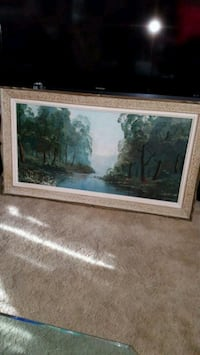 two brown wooden framed painting of trees Toronto, M3H