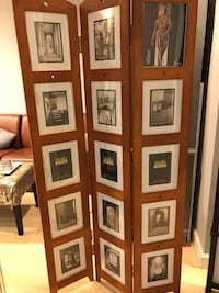 Room Divider new was $100 for photos or fabric Columbia, 21046