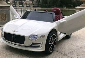 child ride in bently