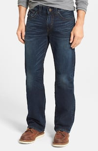 True Religion Men's Billy Bootcut Jean Midnight Pass 33X34 (BNWT)