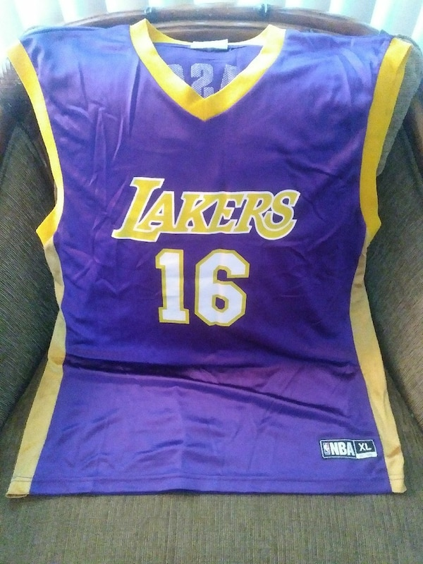 0a4c3e090478 Used Lakers  16 Gasol Jersey for sale in Buena Park - letgo