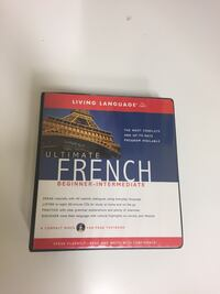 French Language Course with text book and cds Winnipeg, R2N 3V9