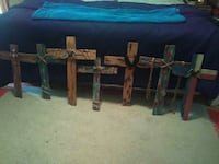 Made by hane Cypress wooden crosses can be made an Scott, 70583
