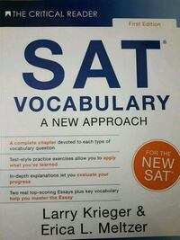 SAT Vocabulary: A New Approach Paperback – Feb 21  Mississauga, L5M