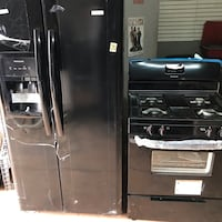 Brand NEW Black Frigidaire side by side and gas stove FREE MICROWAVE AND DISHWASHER Norman, 73026