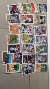 assorted baseball player trading card collection Benicia, 94510
