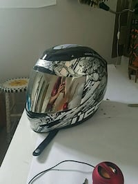 black and gray full-face helmet Rockville, 20853