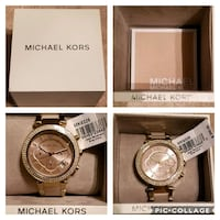 Michael Kors Parker Rose Gold Watch Tyler, 75707
