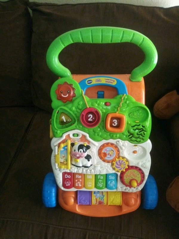 REDUCE.PRICE cut VTECH SIT N STAND Learning Walker