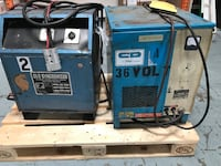 Good working condition forklift battery chargers