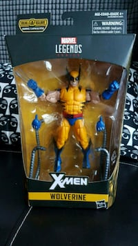 Marvel Legends Wolverine Action Figure  Toronto, M1H 3K2