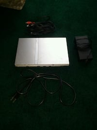 Silver Sony PS2 slim console with controller Carrollton
