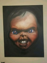 Large Chucky Painting Welland, L3C 2W9