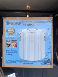 40 qt. Stainless Steel pot Gardendale, 35071