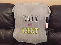 """Juicy Couture """"Call My Agent"""" Tee XL"""