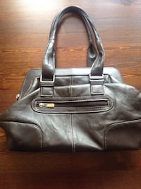Chocolate/dark brown hand bag 2869 km