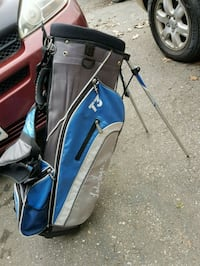 WOMENS STAND UP GOLF BAG WITH BACKPACK STRAPS