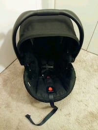 black and gray car seat carrier Richmond Heights, 44143