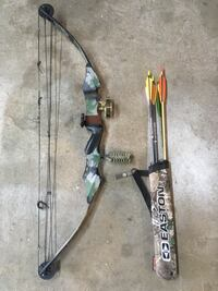 PSE USA spirit compound bow (left handed) North Lawrence, 44666