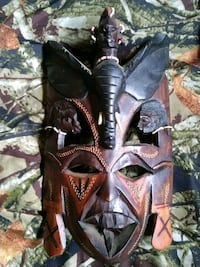 Antique African American Wood Carved Mask!!!! Indianapolis, 46208