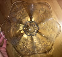 Beautiful Etched Glass Bowl Rockville, 20853