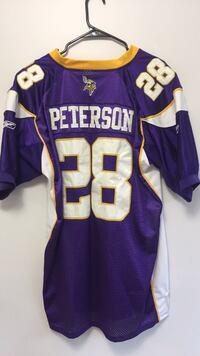 purple and white NFL jersey Alexandria, 22310
