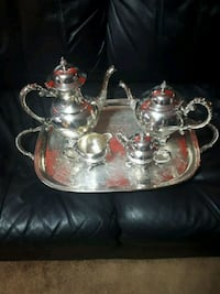 Silver plated set