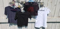 4 womens tops size small and med  Edmonton, T5E 2S2