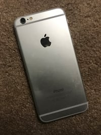 silver iPhone 6 with case Montgomery Village, 20886