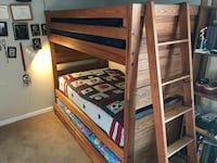 Bunk Beds that sleep 3! Like new. Mattresses included.  Mount Prospect, 60056