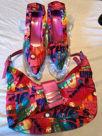 Shoes w/matching purse. Size 8. $20 Virginia Beach, 23453