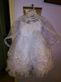 White formal/party dress size 3t Corpus Christi, 78416
