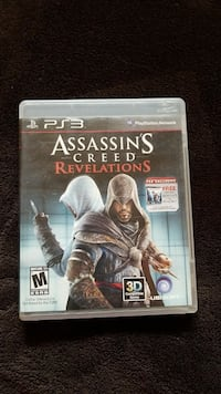 Assassin's Creed Revelations PS3 game case