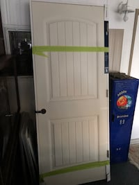 32x80 door with frame brand new