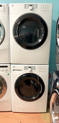 White front-load clothes washer and dryer set Reisterstown, 21136