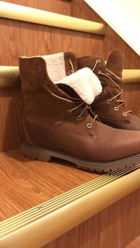 Pair of Brown Leather work boots Calgary, T3J 0P2