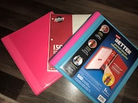2 Binders and 150 ruled sheets Winnipeg, R2L 0Z8