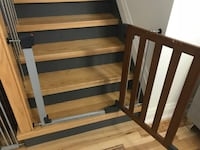 Brown Wood Baby Gates 2 pieces  Mississauga, L5L
