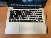 "MacBook Pro Retina 13"" Late 2013 – 128GB SSD - Works Great  Vancouver"