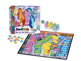 Collectible Doodlebops Get on the Bus Board Game