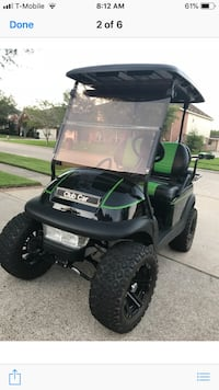 Black and green golf cart Friendswood, 77546