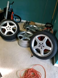 OEM 18 Mercedes monoblocks 5x112