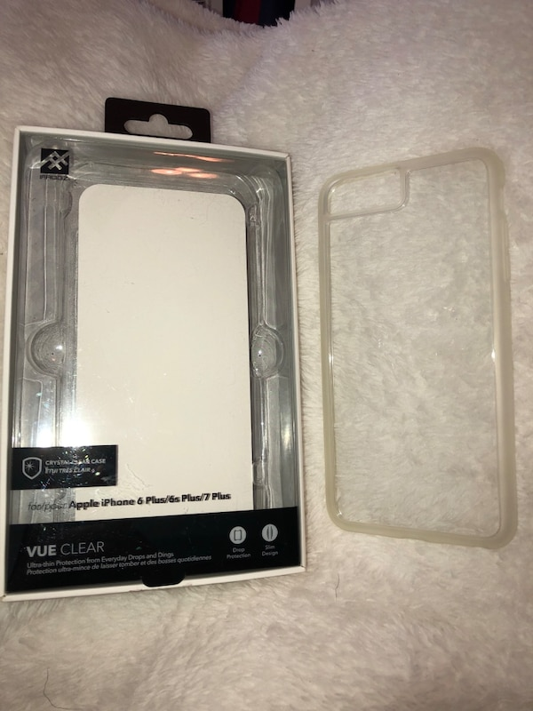 check out 324b4 3e99b Ifrogz vue clear iPhone 6/7/8 plus case